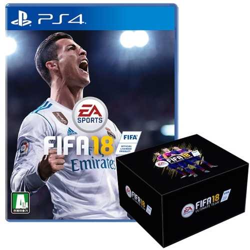 PS4 피파18 팬박스 에디션 / FIFA18