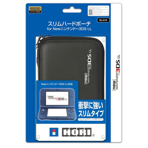 New 3DS XL 슬림 하드 파우치 for NEW 닌텐도 3DS XL 블랙