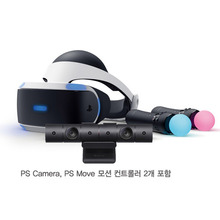 PlayStationVR with Camera + Move 컨트롤러 (1세대)